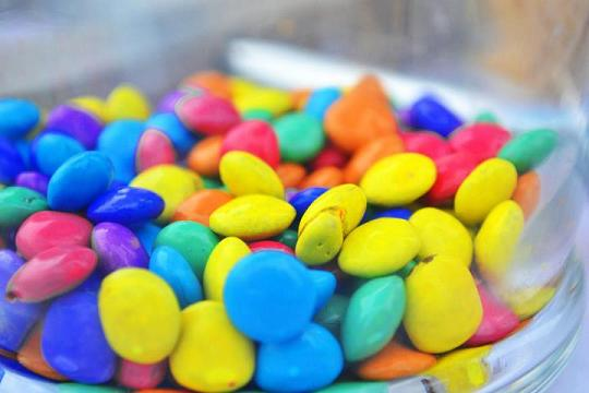 candy, candies, smarties, sweets, colors, rainbow