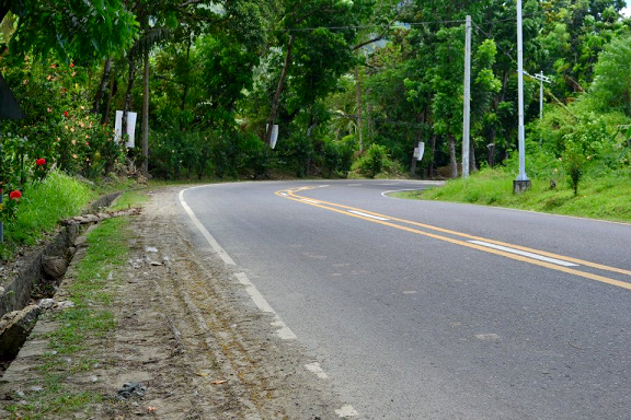 road, right turn, travel