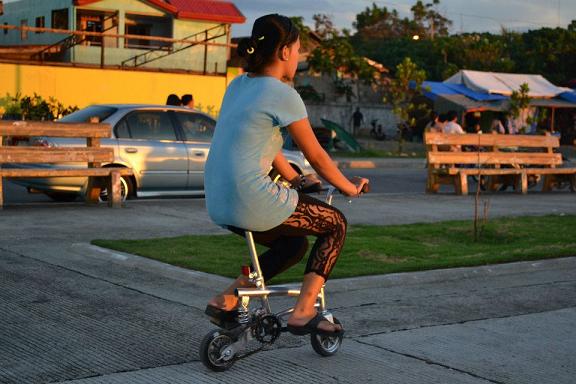 bike, balance, park, ride