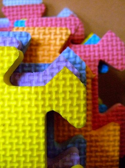 puzzle pieces, puzzle mats, puzzle, colors, rubber mats