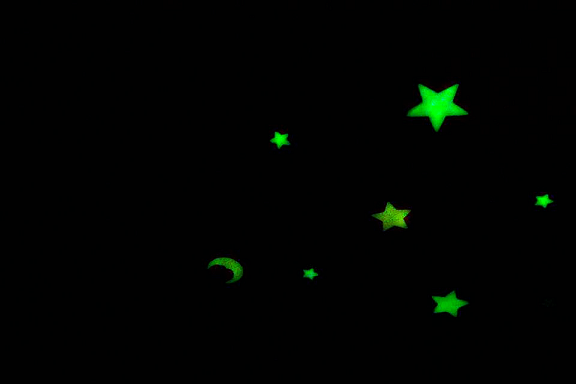 glow in the dark, stars, night sky