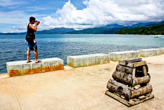 beach, dock, photography, poetry, palawan, philippines