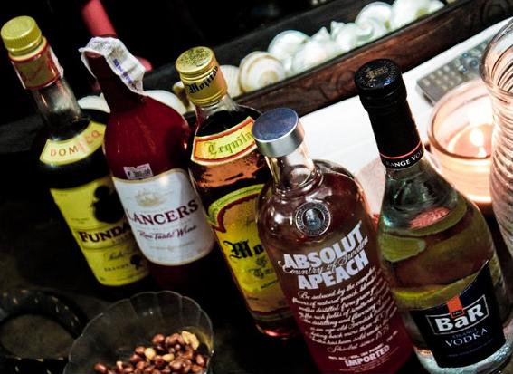 vodka, alcohol, drinking, bottles