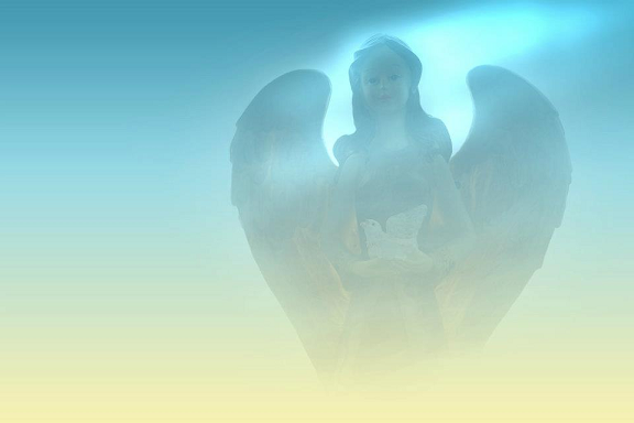angel, hope, faith