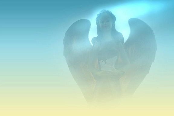 angel, hope, faith