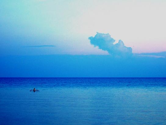 sea, calm sea, boat